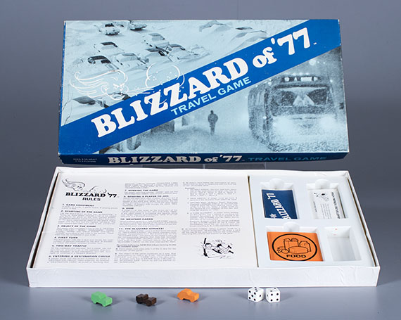 Blizzard of '77  board game  1977. The Strong  Rochester  New York