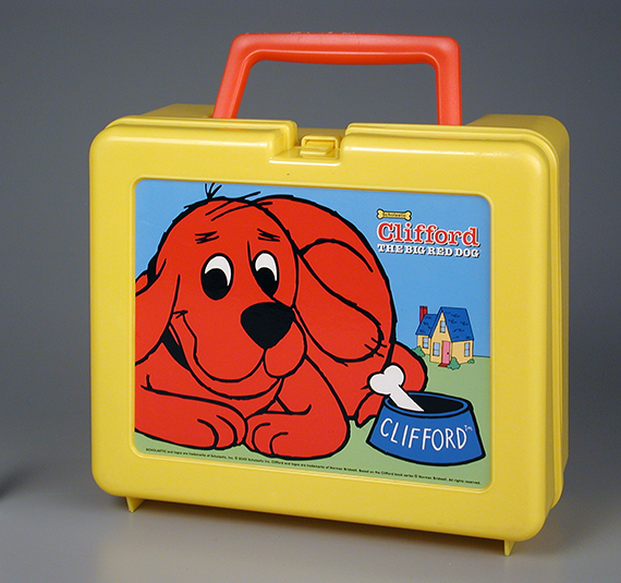 Clifford Lunch Box  courtesy of The Strong  Rochester  New York