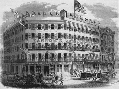 Barnum's museum 1853