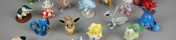 Pokémon figure set (detail)  2005. The Strong  Rochester  New York.