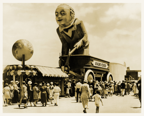 The Radio Flyer Coaster Boy at the World's Fair in 1933