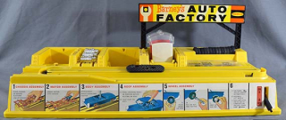 Barney's Auto Factory play set  1964  The Strong  Rochester  New York