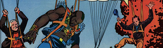 Marvel A Team comic book (detail)  The Strong  Rochester  New York.