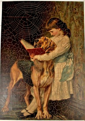 Jigsaw puzzle, G. W. Fiss Jr., 1910, courtesy of The Strong, Rochester, New York.