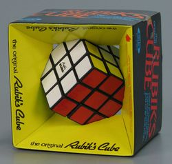 Rubik's Cube, 1980. Courtesy of The Strong, Rochester, New York.