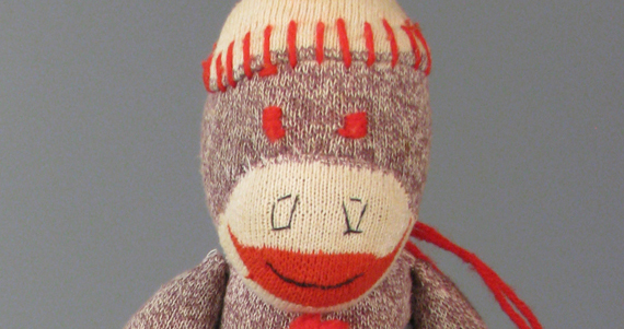 Sock monkey, Gift of Amy M. Zaremski, courtesy of The Strong, Rochester, New York.