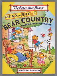 Bear Country coloring book, 1980, courtesy of The Strong, Rochester, New York.