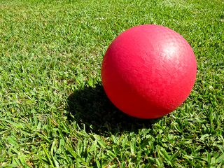Dodge ball anyone. Photo courtesy of Flickr user vvvracer through Creative Commons license CC BY-NC-ND 2.0.