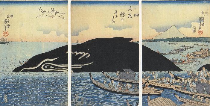Island-whale-ukiyoe