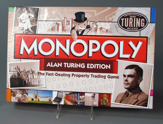 Monopoly Alan Turing Edition, 2012, gift of Winning Moves, UK, The Strong, Rochester, New York