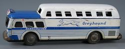 114,7036 Greyhound Scenicruiser bus, 1940s-1960s, The Strong, Rochester, New York