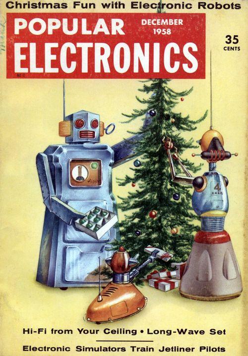 1958 robots popular electronics paleofuture