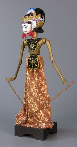 Rod puppet, about 1980, The Strong, Rochester, New York
