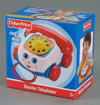 Modern Version of Fisher-Price Chatter Telephone, 2008, The Strong, Rochester, NY