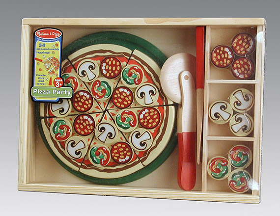 Melissa & Doug Pizza Party play set, 2006 The Strong, Rochester, NY