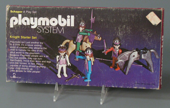 Playmobil Knight Starter Set, play set, 1976, The Strong, Rochester, New York
