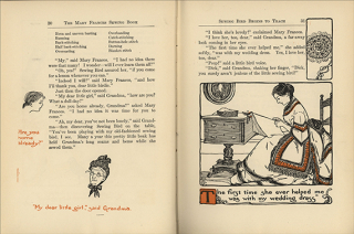 The Mary Frances Sewing Book Adventures among the Thimble People, published 1913, The Strong, Rochester, New York