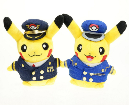 25cm-New-Arrival-2Style-Police-Pikachu-Plush-Toys-Pokemon-stuffed-plush-animals