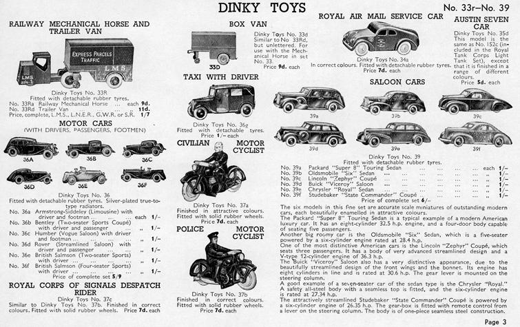 Die-Cast-Dinky-Toys