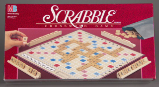 Scrabble, 1989. Gift of Andrew Cosman and Mary Valentine. The Strong, Rochester, New York.