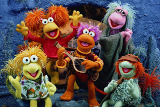 Fraggle Group Shot courtesy of Flickr, anonymouse user,  through Creative Commons License Attribution.