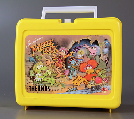 Fraggle Rock Lunch Box, The Strong, Rochester, New York