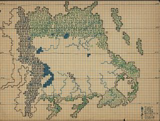 MtDewshine map (PlaGMaDA), The Strong, Rochester, New York
