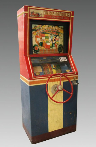 Drive Mobile, International Mutoscope Reel Company, Inc., 1941, Arcade Game Collection, The Strong, Rochester, New York.