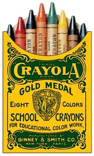 Original Crayola 8 box