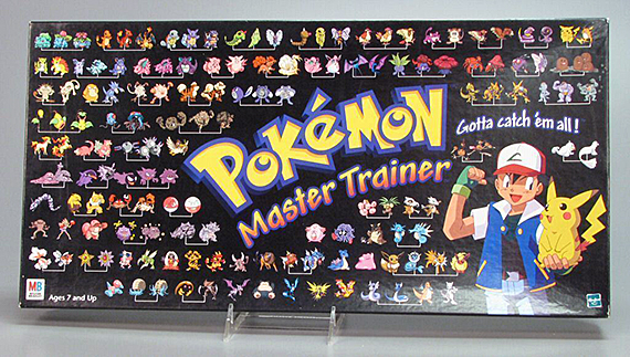 Pokémon Master Trainer board game  1999. The Strong  Rochester  New York.
