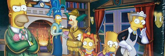 The Simpsons Clue (detail)  Hasbro Inc.  2002  The Strong  Rochester  New York.