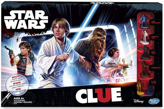Star Wars Clue  Hasbro  Inc.  2016  The Strong  Rochester  New York.