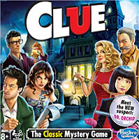 Clue game  gift of Hasbro Inc.  2017  The Strong  Rochester  New York.