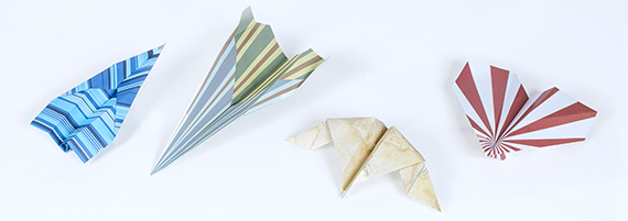 Assorted paper airplanes  The Strong  Rochester  New York