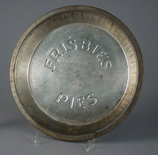 Pie pan  Frisbie Pie Company  The Strong  Rochester  New York.