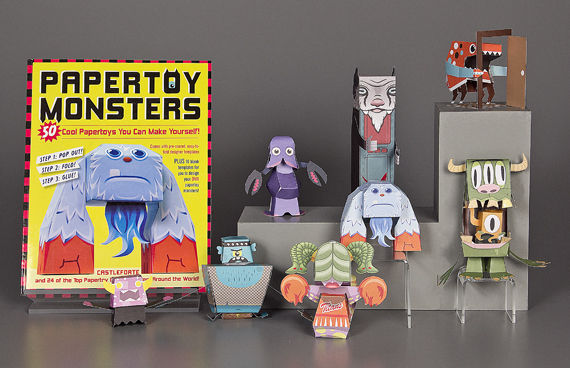 Papertoy Monsters activity book, Workman Publishing, 2010, courtesy of The Strong, Rochester, New York.