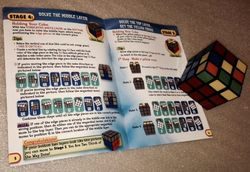 My Rubik's Cube and Solution Guide - You CAN Do the Rubik's Cube. Cube courtesy of Holly Riehl, Rubik's Brand SVP-USA.