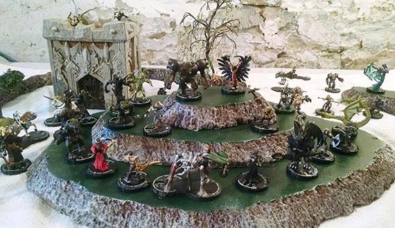 Bob's Mage Knights, 2015, courtesy of Diana L. Novakovic.