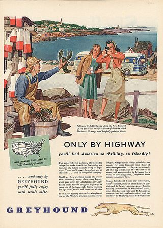 114,7189 Only by Highway..., advertisement, 1930s-1950s, The Strong, Rochester, New York
