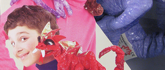 110,663 Shoulder puppet (detail), 2005, The Strong, Rochester, New York