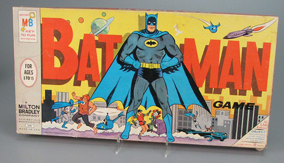 Batman board game, 1966. The Strong, Rochester, New York.
