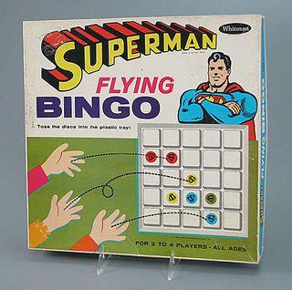 Superman Flying Bingo, 1966. The Strong, Rochester, New York.
