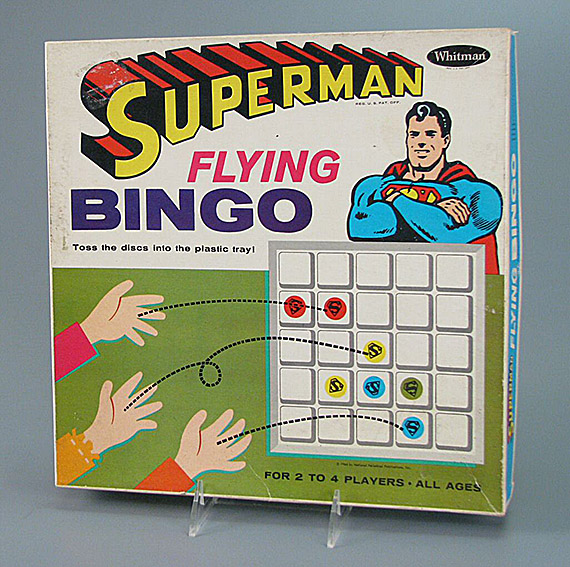 Superman Flying Bingo, 1966. The Strong, Rochester, New York.