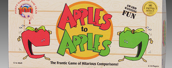 Apples to Apples, Card Game (detail), 2000, The Strong, Rochester, New York