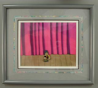 I'm No Fool, Jiminy Cricket animation cel, 1962, Courtesy of The Strong, Rochester, New York