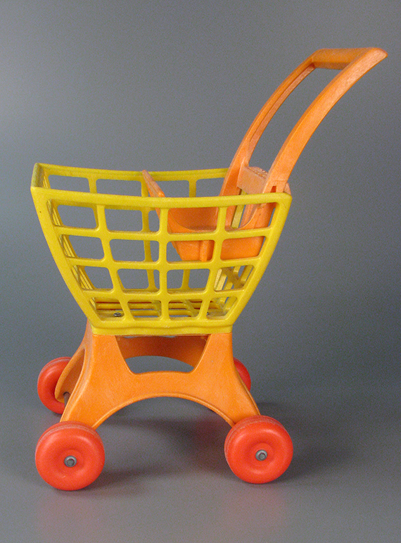 Tuff Stuff Shopping Cart, Mattel, about 1970-1979, The Strong, Rochester, New York