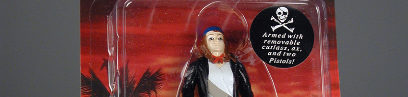 Action figure,  Anne Bonny, The Infamous Female Pirate Action Figure (detail), The Strong, Rochester, New York