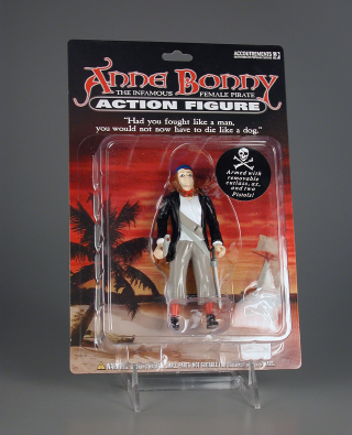 Action figure,  Anne Bonny, The Infamous Female Pirate Action Figure, The Strong, Rochester, New York