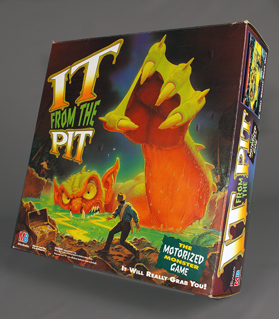 It from the Pit game, 1993, gift of Donald Lyon. The Strong, Rochester, New York.