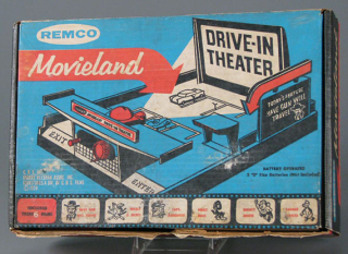 Remco Movieland Drive-In Theater, 1959, The Strong, Rochester, New York.